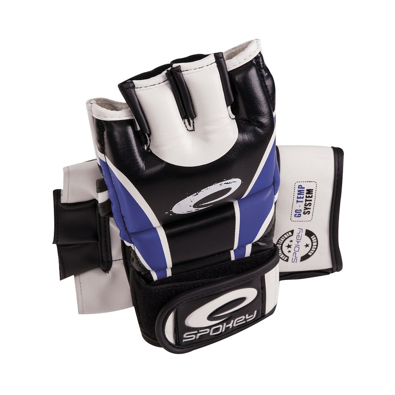 Kožené rukavice na MMA Spokey JUNYO modré
