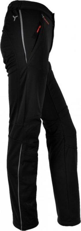97c9e915a673 Dámske softshellové nohavice Silvini Mia WP319L black (predĺžené)