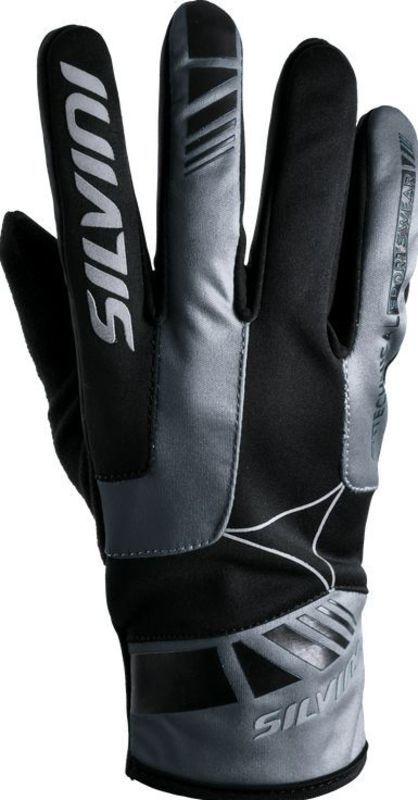 Pánske rukavice Silvini Conti UA507M black-charcoal