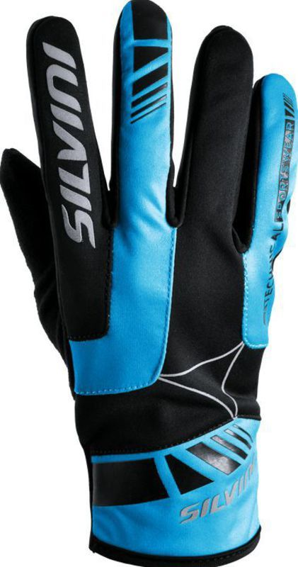 Pánske rukavice Silvini Conti UA507M black-hawaii