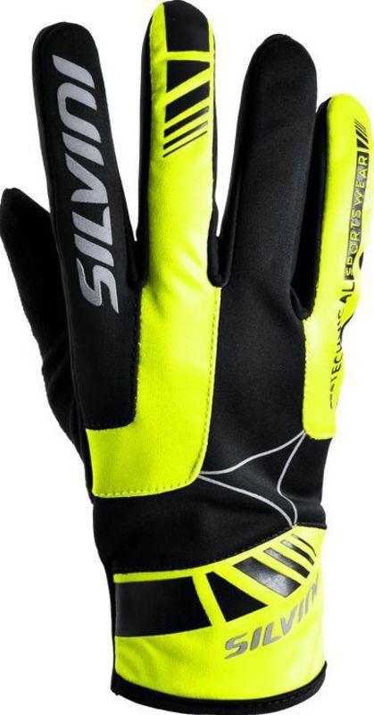 Pánske rukavice Silvini Conti UA507M black-neon