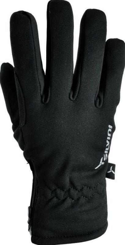 Pánske rukavice Silvini Trelc MA733 black