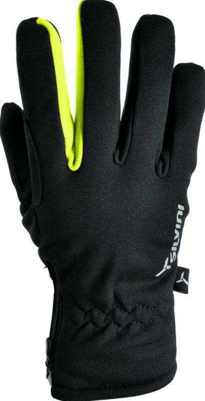 Pánske rukavice Silvini Trelc MA733 black-neon