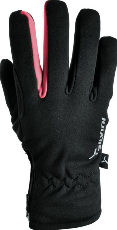 Dámske rukavice Silvini TRELCA WA734 black-punch M