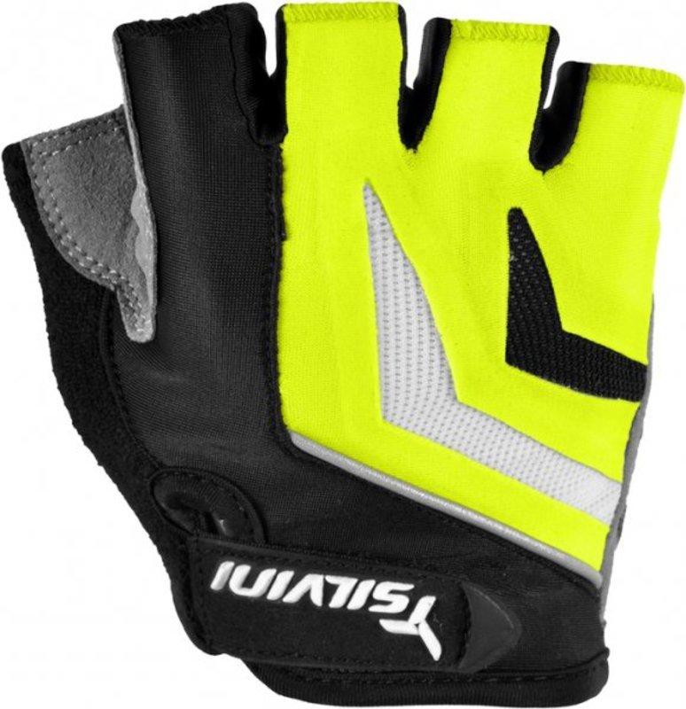 Dámske cyklistické rukavice Silvini Nero UA467W green