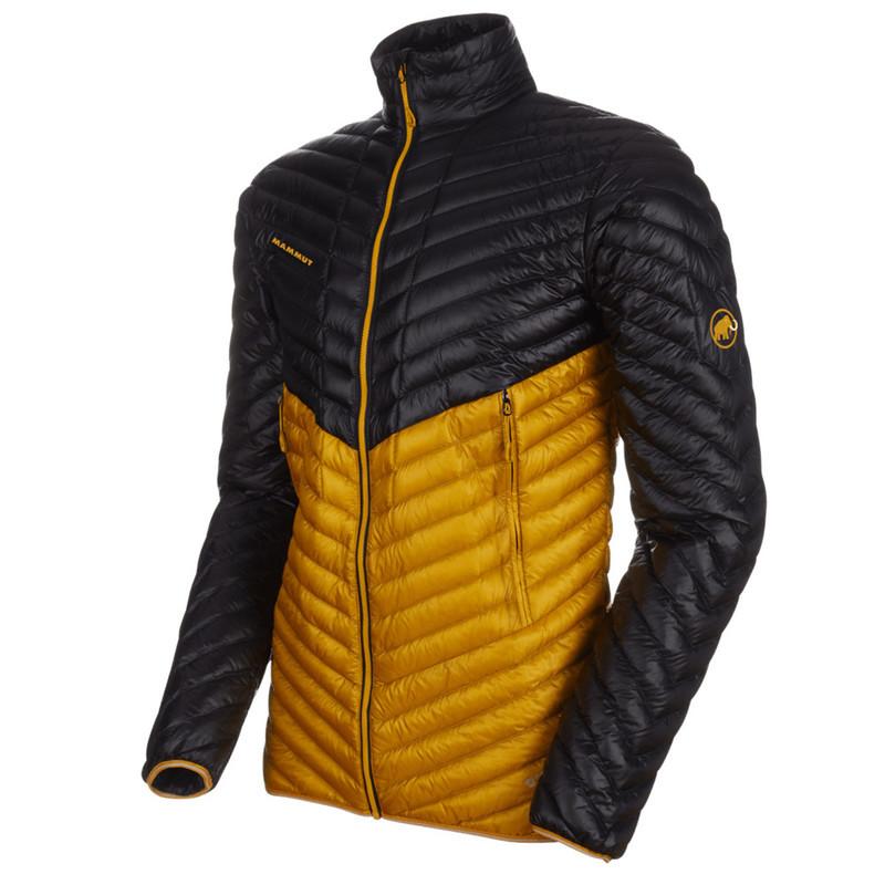 Pánska bunda Mammut Broad Peak Light IN Jacket Men black golden 00328 (1013-00420) L