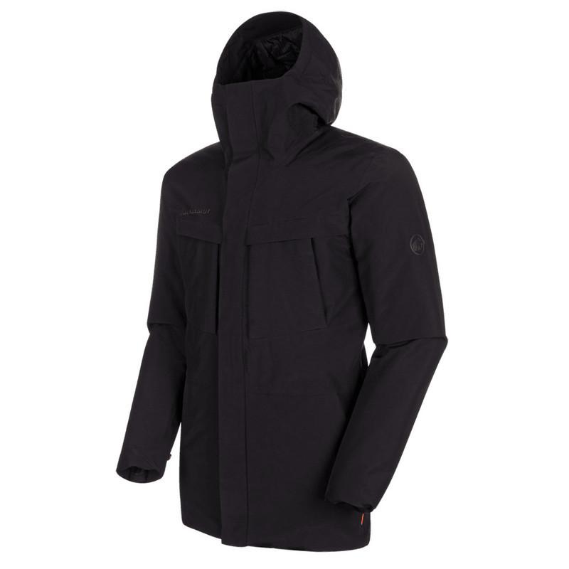 Pánska bunda Mammut Chamuera HS Thermo Hooded Parka Men black 0001 M