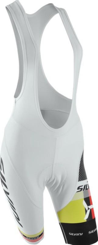 Dámske cyklistické nohavice lacl Silvini TEAM WP841 white