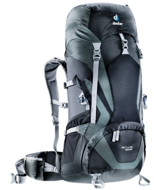 Batoh Deuter ACT Lite 50+10 black-granite (3340315)