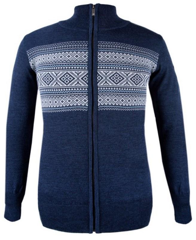 Dámsky sveter Kama 5102 108 tmavo modrý S