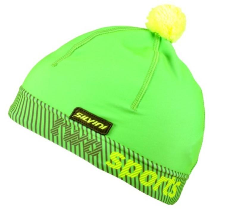 Čiapka Silvini PALA UA1127 green-neon L/XL
