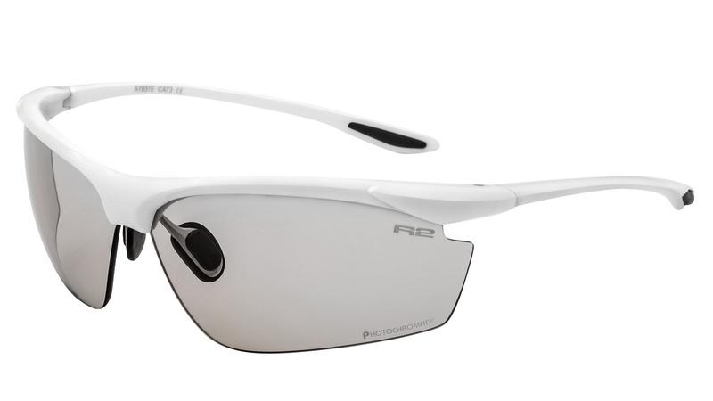 Športové okuliare R2 PEAK biele AT031E