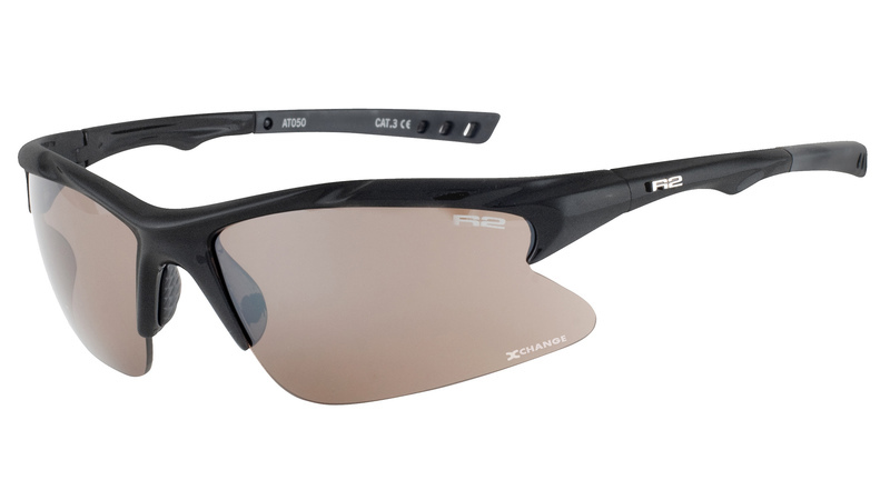 Športové okuliare R2 MISSION čierne AT050E