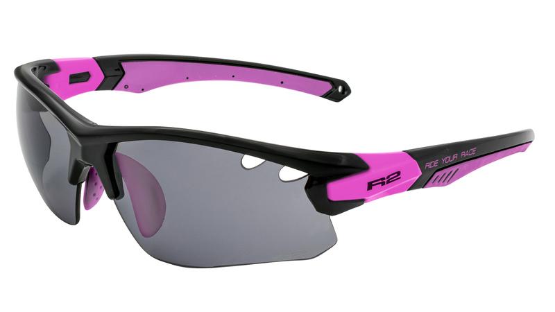 Športové okuliare R2 CROWN čierne AT078B