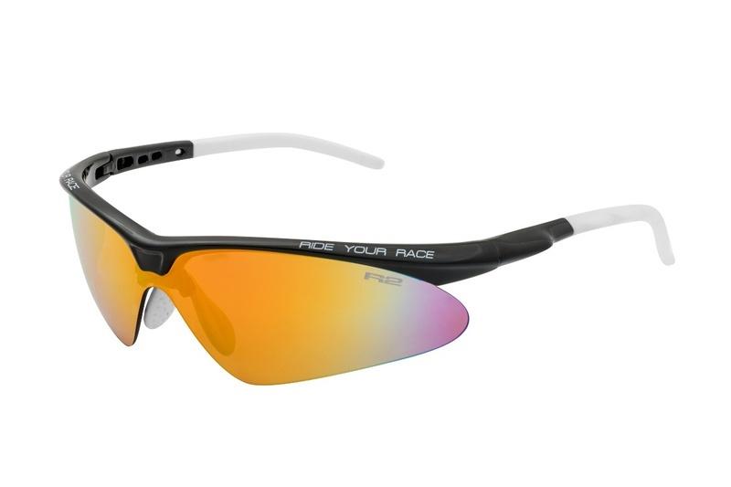 Športové slnečné okuliare R2 FLIP čierne AT083A