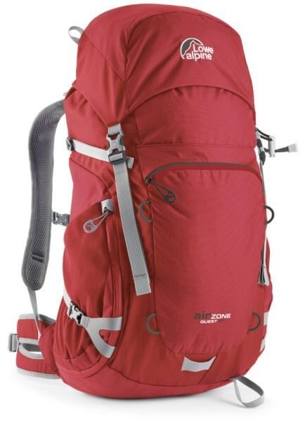 Batoh Lowe alpine AirZone Quest 37 sunset red / zinc