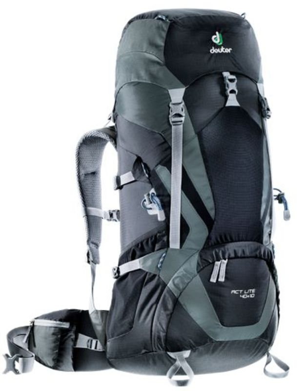 Batoh Deuter ACT Lite 40+10 black-granite (3340115)