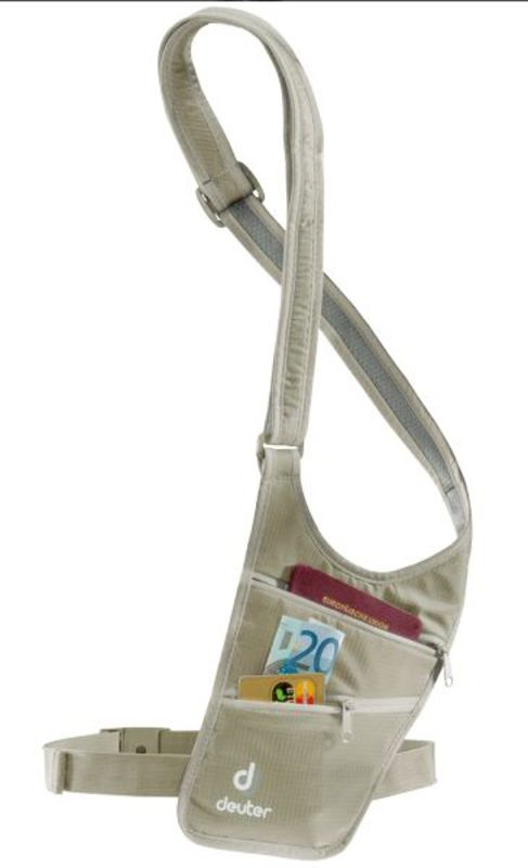 Cestovný taštička Deuter Security Holster sand (3942216)