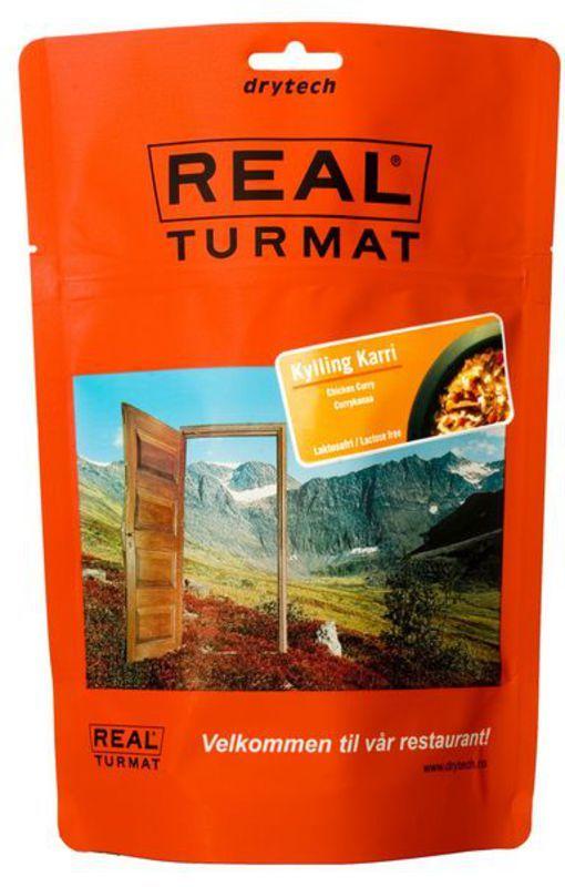Real Turmat Kurča na kari s ryžou, 138 g