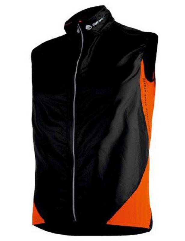 Dámska vesta Sensor Parachute Extralite čierna oranžová 14100009 S
