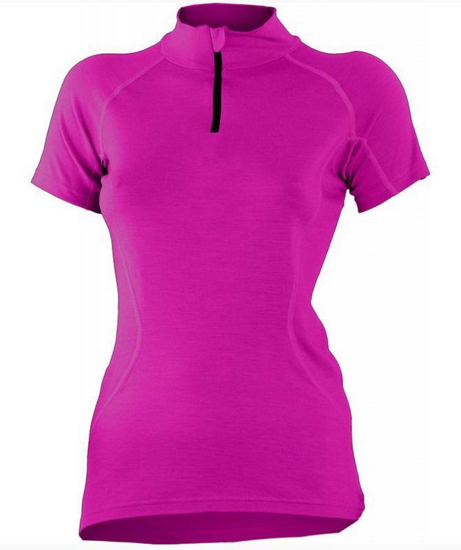 Dámske vlnené triko Lasting Katy 4848 ružová XS