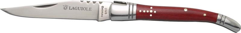 Nôž Baladéo Laguiole 11 cm, červená stamina DUB012
