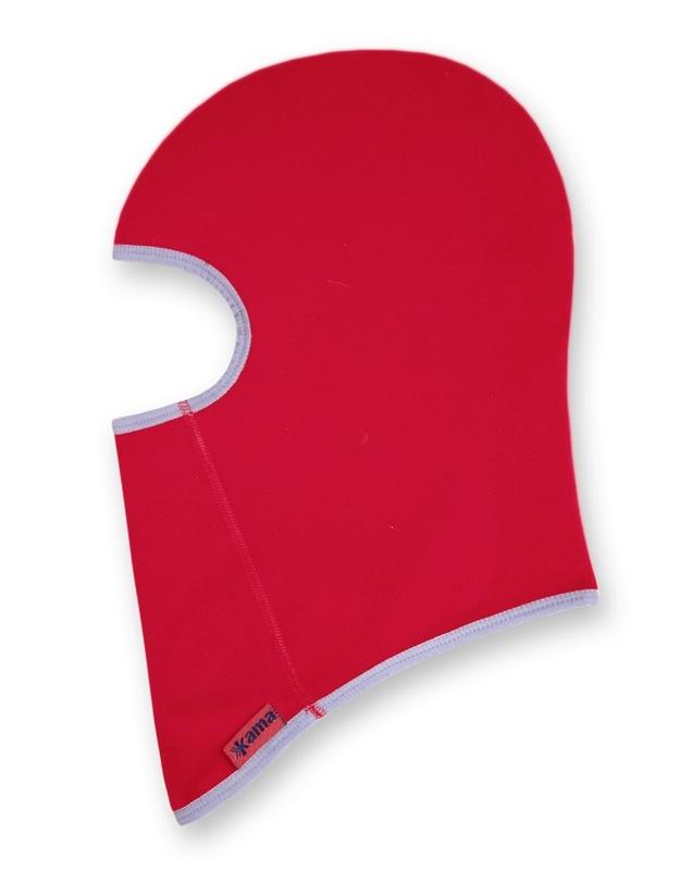 Detské fleecová kukla Kama DB16 104 červená