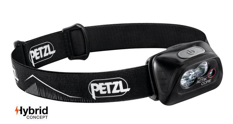 čelovka Petzl Actik Core čierna E099GA00