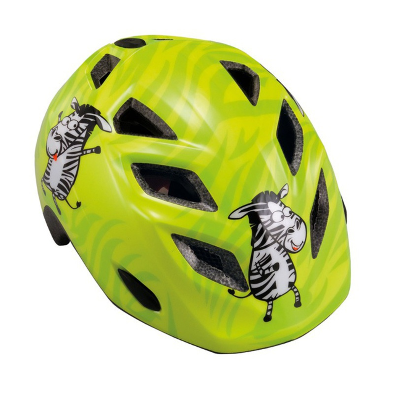 Detská helma Met Genio 52/57 - zebra / zelená