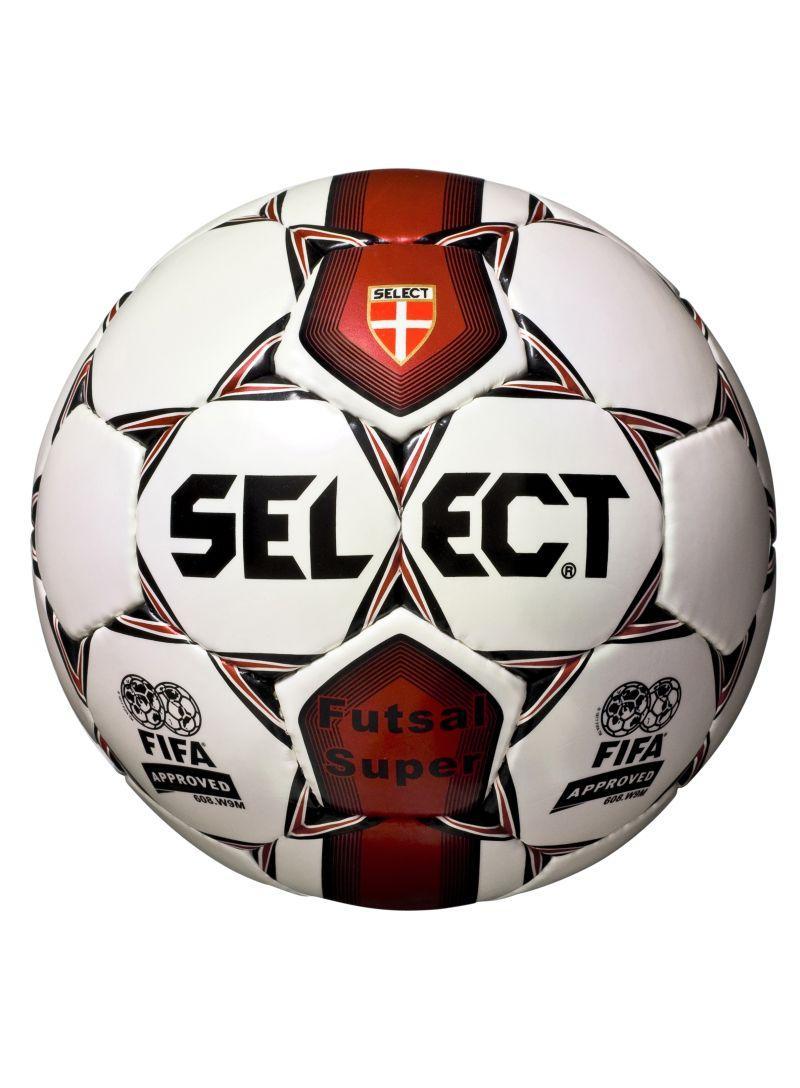 Lopta Select Futsal Super červená biela