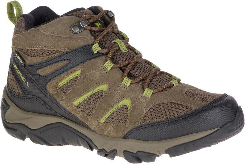 Topánky Merrell OUTMOST MID VENT GTX boulder J09507