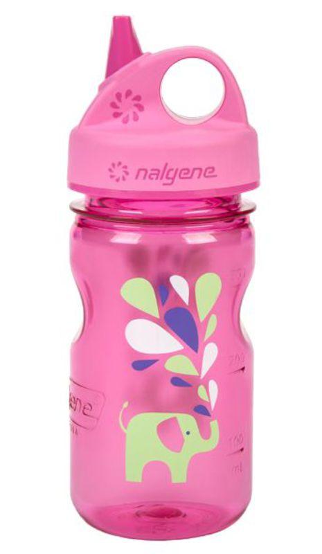Fľaša Nalgene Grip n Gulp 350ml 2182-1712 pink elephant - gamisport.sk f87c9cb39c7