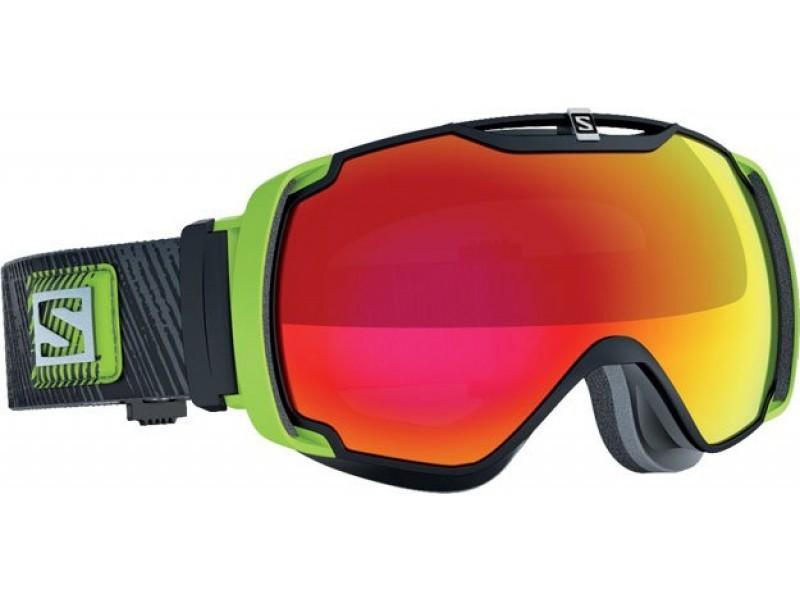 Lyžiarske okuliare Salomon XTEND Black/Univ. Mid Red 367853