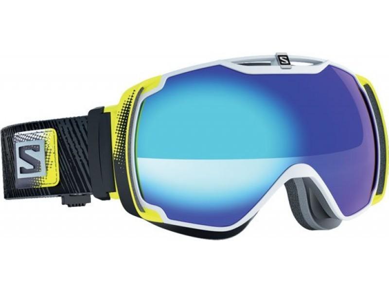 Lyžiarske okuliare Salomon XTEND White/Solar Blue 367855