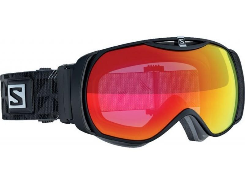 Lyžiarske okuliare Salomon XTEND S Black/LowLight Light Red 367899