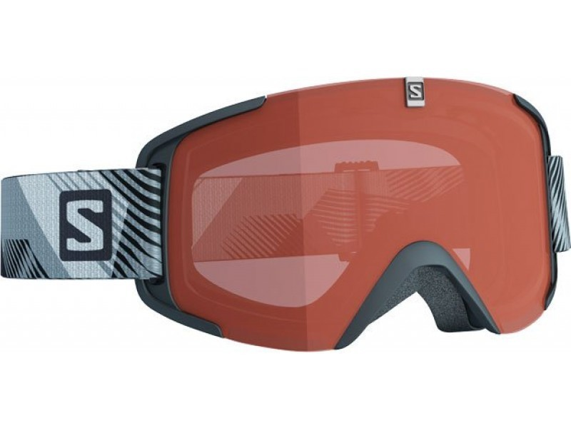 Lyžiarske okuliare Salomon XVIEW ACCESS Black & Orange lense 368020