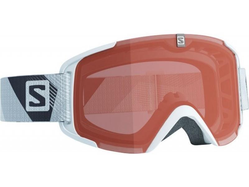 Lyžiarske okuliare Salomon XVIEW ACCESS White & Orange lense 368021