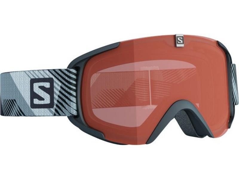 Lyžiarske okuliare Salomon XVIEW S ACCESS Black & Orange lense 368034