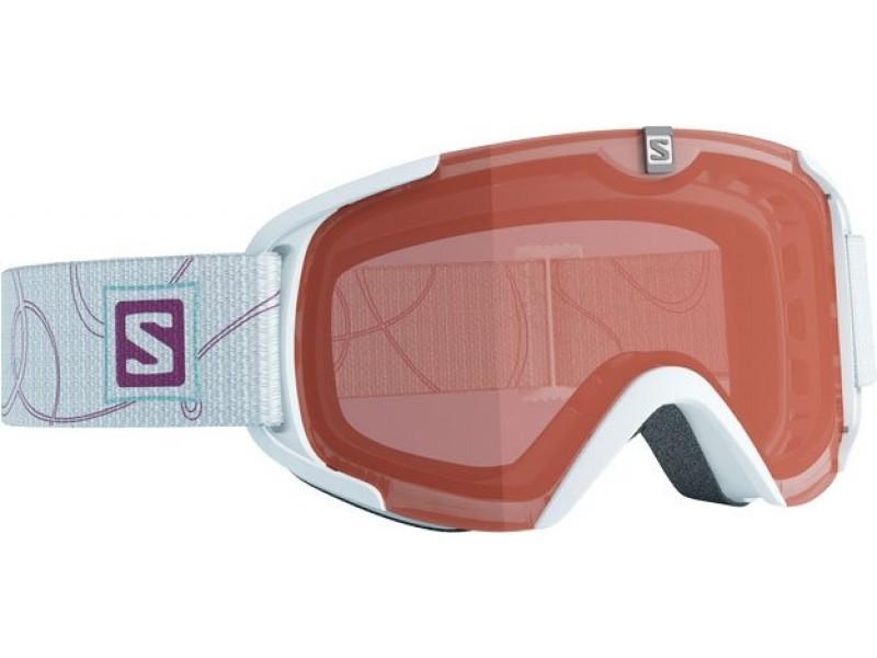 Lyžiarske okuliare Salomon XVIEW S ACCESS White & Orange lense 368035