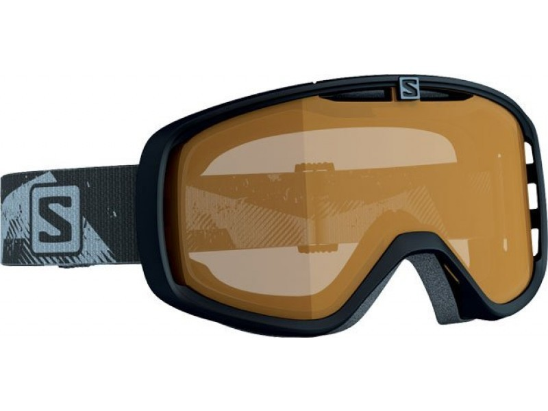 Lyžiarske okuliare Salomon Aksium ACCESS Black/Low Light Orange 368038