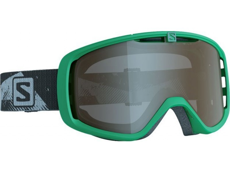 Lyžiarske okuliare Salomon Aksium ACCESS Green/Standard Amber Grey 368043