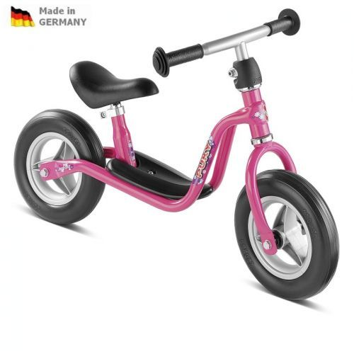 Detské ružové odrážadlo LEARNER BIKE MEDIUM - LR M PUKY 4052