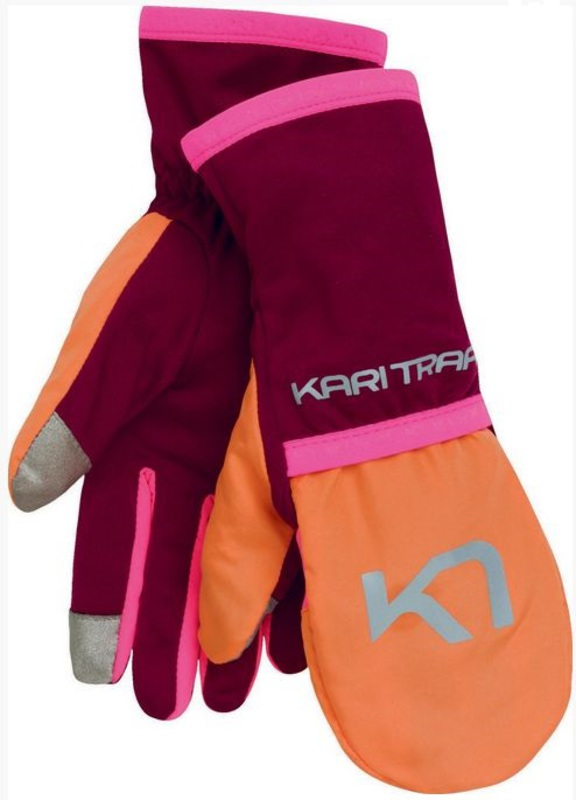 Rukavice Kari Traa LOUISE GLOVE PLUM