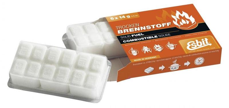 Tablety pevného liehu Esbit 6x14 g 00112100