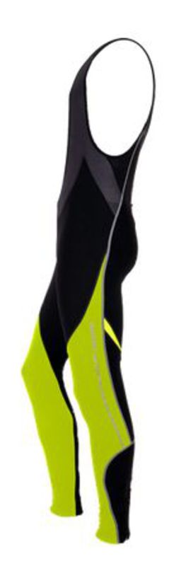 Pánske cyklistické nohavice Silvini Movenza Top + cyklovložka MP96 neon-black