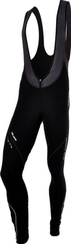Pánske cyklistické nohavice Silvini Movenza Top + cyklovložka MP96 black