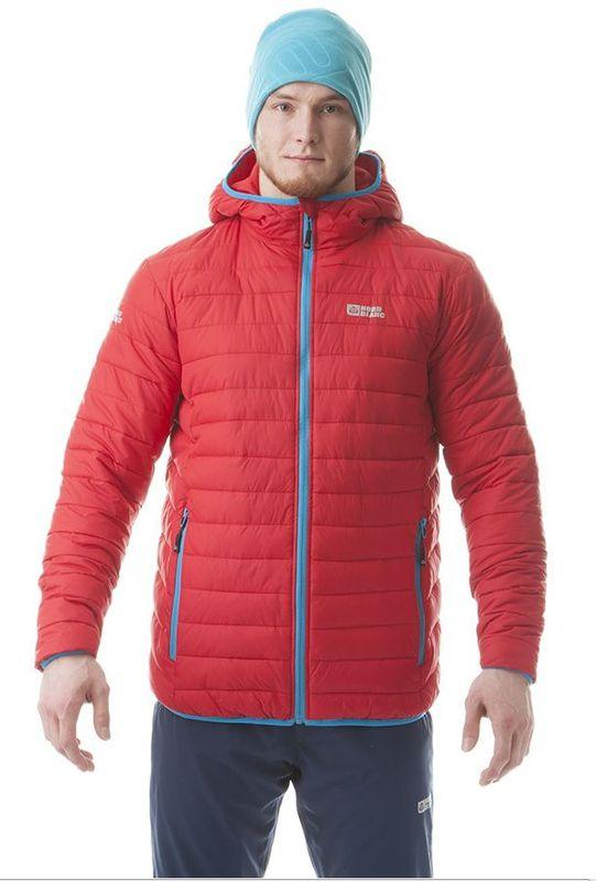 Pánska bunda jeseň zima Nordblanc NBWJM5815 červená - gamisport.sk cd4cd8dda80