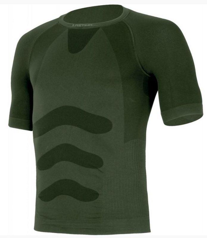 Pánske Termo triko Lasting Abel 6262 zelená