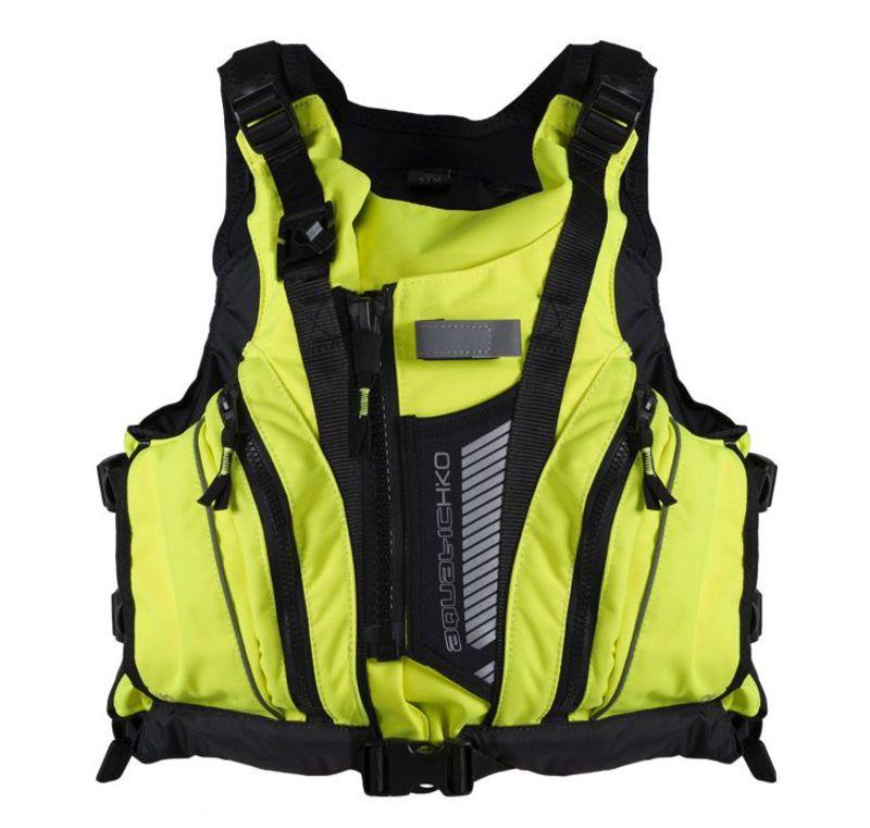 Plávacie vesta Hiko Aquatic 15101 žltá