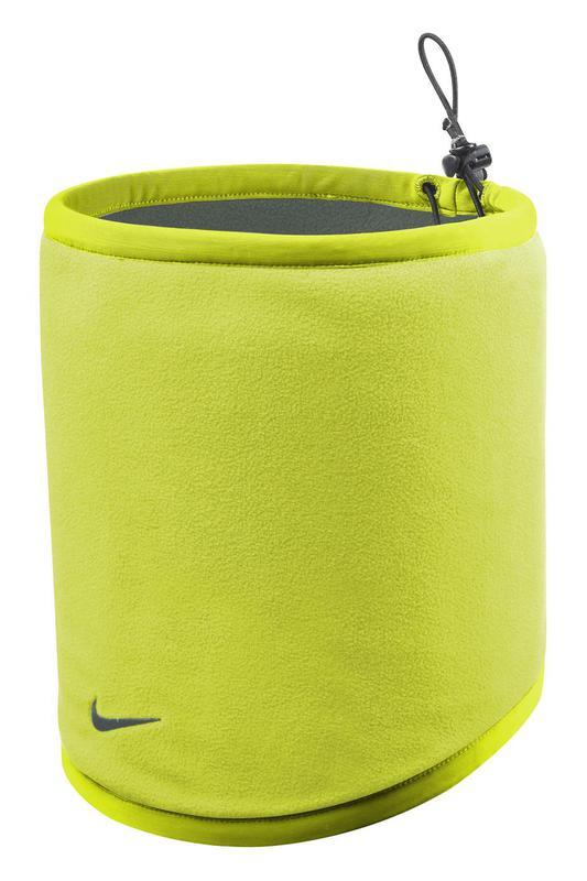 Nákrčník Nike Reversible Fleece Neck Warmer DEEP PEWTER/VOLT